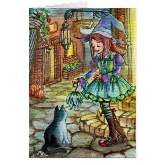 Come with me Kitty Card