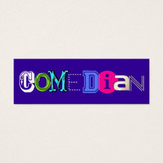 Comedian Business Cards