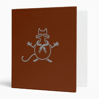 Comedian Cat Vinyl Binders