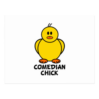 Comedian Chick Postcard