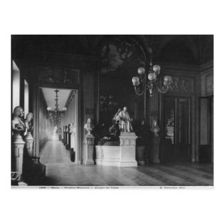 Comedie Francaise, view of the foyer Postcard