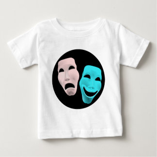 comedy-157719  comedy face theater tragedy masks r baby T-Shirt