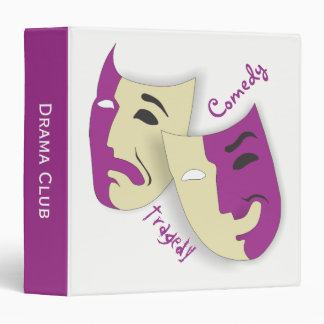 Comedy and Tragedy Binder