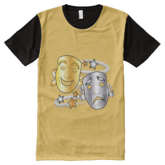 Comedy and Tragedy Drama Masks