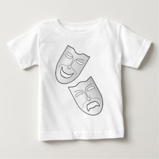 Comedy and Tragedy Faces/Masks Baby T-Shirt
