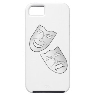 Comedy and Tragedy Faces/Masks iPhone 5 Covers