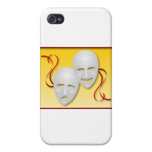 Comedy and Tragedy Case For iPhone 4