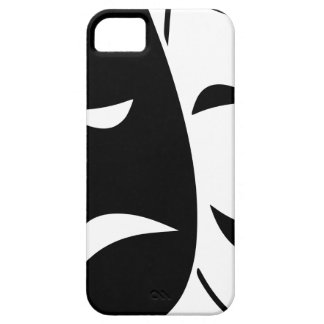 Comedy And Tragedy Mask iPhone 5 Case