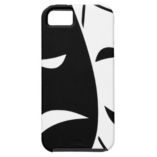 Comedy And Tragedy Mask iPhone 5 Covers