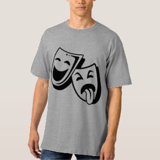 Comedy and Tragedy Masks T Shirts
