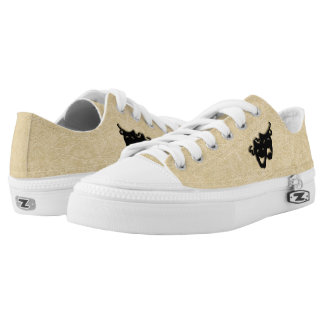 Comedy and Tragedy Masks Theater Low-Top Sneakers