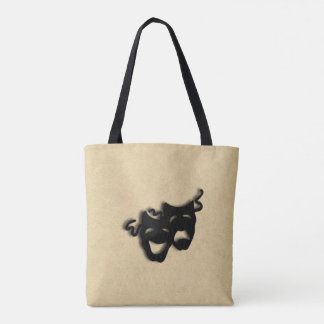 Comedy and Tragedy Masks Theater Tote Bag