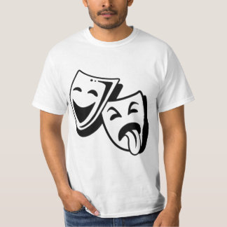 Comedy and Tragedy Masks Tshirt