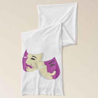 Comedy and Tragedy Scarf