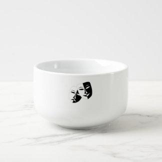 Comedy And Tragedy Soup Mug