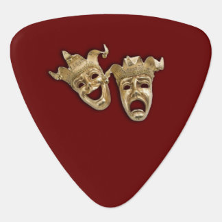 Comedy and Tragedy Theater Guitar Pick