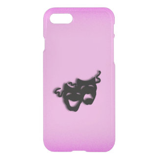 Comedy and Tragedy Theater Pink iPhone 7 Case