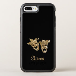 Comedy and Tragedy Unique Theater Monogram OtterBox Symmetry iPhone 8 Plus/7 Plus Case