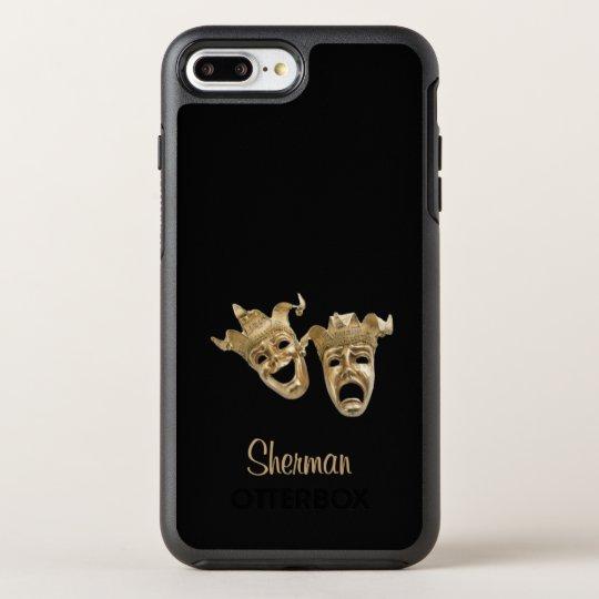 Comedy and Tragedy Unique Theatre Monogram OtterBox Symmetry iPhone 7 Plus Case