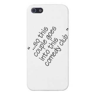 Comedy Club iPhone 5/5S Covers