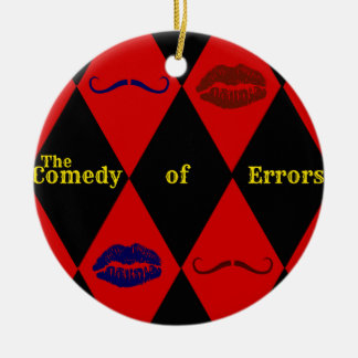 Comedy of Errors Ornament