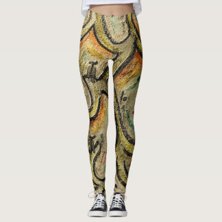 Comedy People by rafi talby Leggings