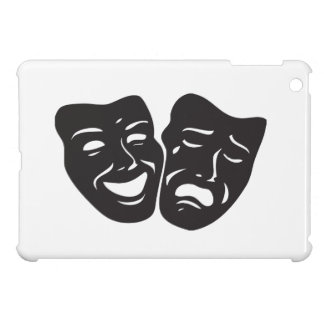 Comedy Tragedy Drama Theatre Masks Cover For The iPad Mini