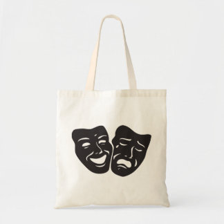 Comedy Tragedy Drama Theatre Masks Tote Bag