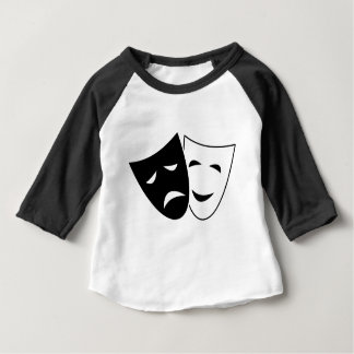 Comedy Tragedy Masks Baby T-Shirt