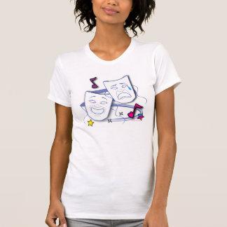 Comedy Tragedy Masks Drama T-Shirt