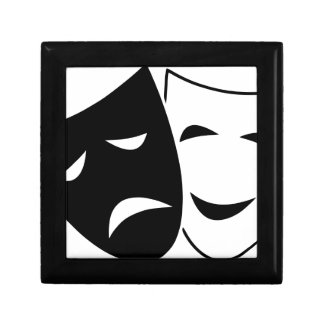 Comedy Tragedy Masks Gift Box