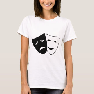Comedy Tragedy Masks T-Shirt