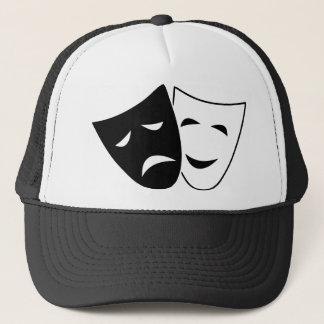 Comedy Tragedy Masks Trucker Hat