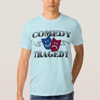 Comedy Tragedy T Shirts