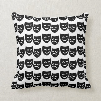 Comedy/Tragedy Theatre Pillow