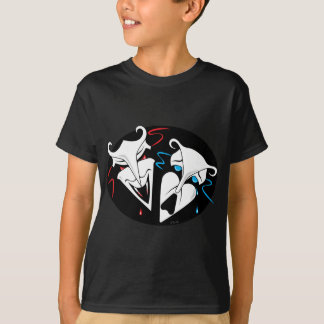 Comedy Tragedy - Vampire Victim T-Shirt