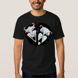Comedy Tragedy - Vampire Victim T-shirts