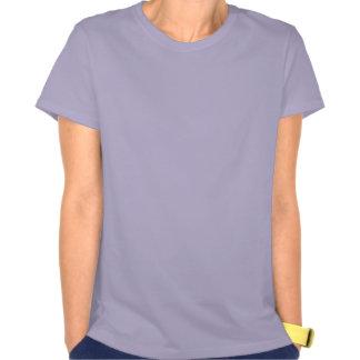 Comedy Tragedy Yin Yang Purple Tee Shirts