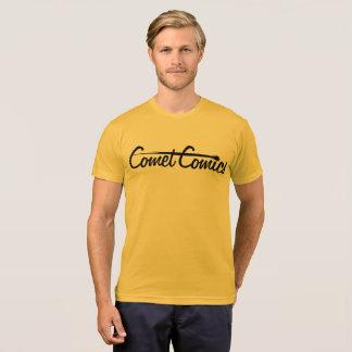Comet Comics Logo - Black T-Shirt