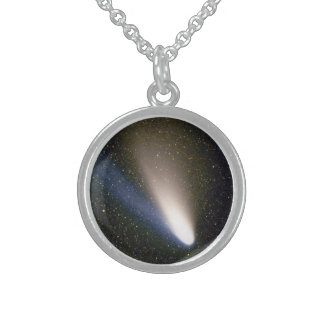 Comet Hale Bopp Sterling Silver Necklace