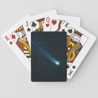 Comet in Night Sky Playing Cards