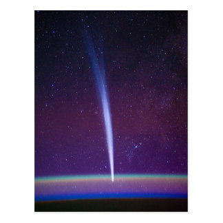 Comet Lovejoy Near Earth's Horizon Postcard