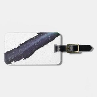 comet luggage tag