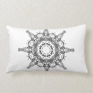 Comet Mandala Lumbar Pillow 13 X 21