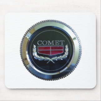 Comet mouse pad