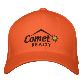 Comet realty - transparent embroidered hat