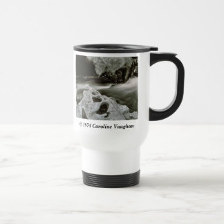 comet rocks 74,  1974 Caroline Vaughan , Smoke... Travel Mug