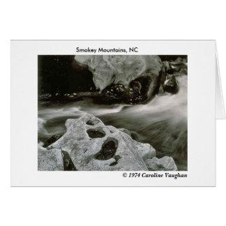 comet rocks 74, Smokey Mountains, NC,  1974 Ca... Card