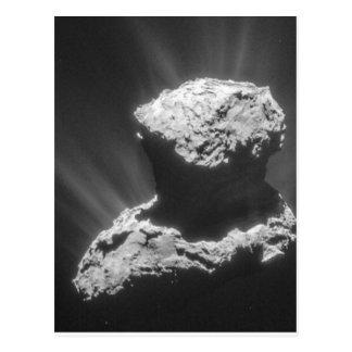 Comet Rosetta Postcard