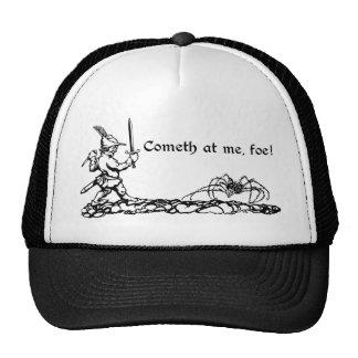 Cometh at me, foe! trucker hat